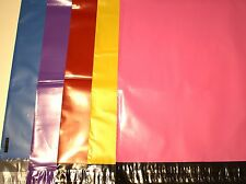 40 multi-color 10X13 Poly Mailers Shipping Envelope  Shipping Bags(8per color)