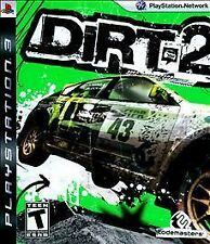 *FAST SHIP* DiRT 2 Sony PlayStation 3 PS3 COMPLETE Game+Case+Manual