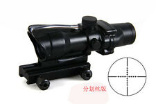 Rifle Scope ACOG 4x32 optical Gun tactical airsoft pistol Scopes for Hunting