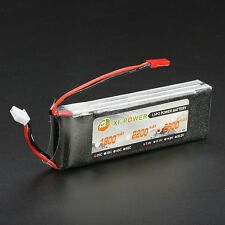 Battery 7.4V 2600mAh 2S 25C Lipo Battery JST Plug Rc Car Rc Helicopter Universal