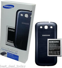 OEM Samsung Extended Battery And Door For Galaxy S3 SIII S III 3000mah i747 AT&T