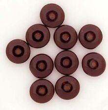 Czech Glass Beads Garnet Red 6mm Rondel Spacer x 25