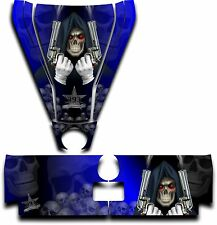 Graphic Decal Kit Canam Commander Can Am Hood Tailgate Reaper Revenge Blue