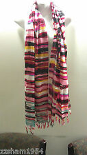 NEW 29 Palms Multi Color LIGHT WEIGHT scarf  Long  Wrap Shawl Scarf lotus