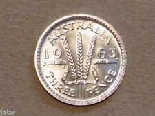 Australia.   1963 Threepence Proof.......  Mintage-5042