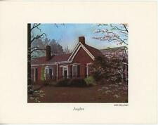 "VINTAGE ARTIST KEN HOLLAND ART ""ANGLES"" BRICK HOUSE PRINT SPRING BLANK NOTE CARD"