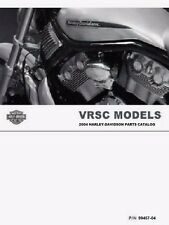 2004 Harley VRSC VRSCA VRSCB VROD V-ROD Part Parts Catalog Manual Book 99457-04