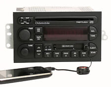 Oldsmobile 1996-00 Achieva Custlass Radio AM FM CD Cassette w Aux Input 16213343