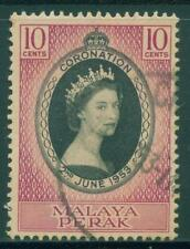 [JSC] 1953  MALAYA Perak Coronation of Queen Elizabeth II