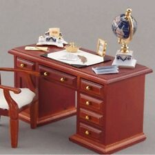 Writing Desk with Globe ~ Stunning 1/12th Scale Miniature By Reutter Porzellan!!