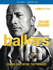 HBO Ballers: The Complete 1st Season (Blu-ray, 2016, 2-Disc Set) BRAND NEW