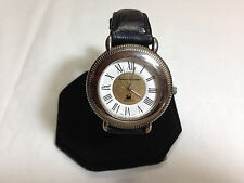 Vintage Gloria Vanderbuilt womens watch,larger case with coin edge sides    L418