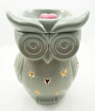 Wax Burner - Grey Owl Electric wax tart warmer with light and dimmer
