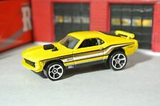 Hot Wheels Ford Mustang Mach 1- Yellow - Loose - 1:64 - Exclusive