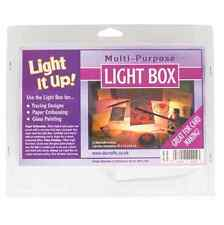 MULTI PURPOSE TILTED CRAFT LIGHT IT UP TRACING BOX STUDIO PHOTOGRAPHY PORTABLE