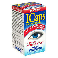 ICaps Lutein and Zeaxanthin Formula Dietary Supplement 60 ct