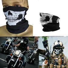 New Motorcycle Tube Biker Bandana Neck  Warmer Vampire Skull Skeleton Face Mask