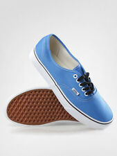 NEW VANS AUTHENTIC FRENCH BLUE TRUE WHITE SHOES MENS 8.5 WOMENS 10 NIB ERA SKATE