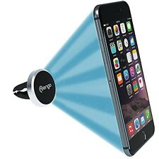Mengo Slim-Snap Aluminum Magnetic Air Vent Car Mount Holder For (iPhone,
