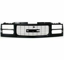 Gmc Pickup Truck 94-99 Front Grille Car Black Comp HeadLight(Old Style 99)