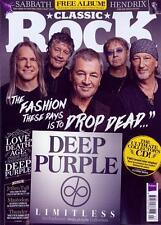 CLASSIC ROCK magazine 234 Deep Purple & Free Limitless Exclusive CD Album