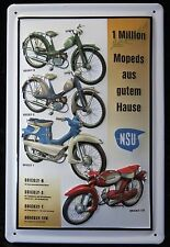 NSU QUICKLY MODELLE , 1 Million Mopeds MOFA MOTORRAD