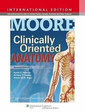 Moore Clinically Oriented Anatomy by Moore, Lippincott Williams & Wilkins...