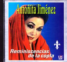 ANTONIA JIMENEZ-REMINISCENCIAS DE LA COPLA CD ALBUM 1999 SPAIN