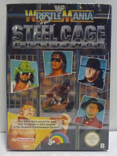 WF WRESTLEMANIA STEEL CAGE CHALLENGE  - NINTENDO NES EUROPA PAL B VERSION BOXED