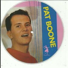 7'PICTURE Pat Boone  Bernadine/April Love  50's GOLD/Maybellene
