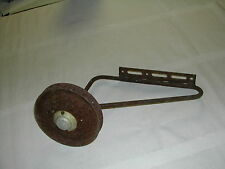 vintage adjustable bicycle training wheel with hubcap, antique 1940-60s?