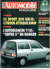 L'automobile magazine:  N°466 avril 1985