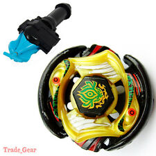 BB-P01 VULCAN HORUSEUS BEYBLADE Masters Fusion Metal+GRIP+BLUE SPIN LAUNCHER NEW