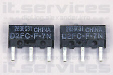 2x OMRON D2FC-F-7N Microswitch Mouse button RAZER,Apple,SteelSeries,Logitech