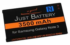 original JuBaTec Akku für Samsung Galaxy Note 3 GT-n9000 mit NFC EB-B800BE