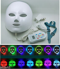 Elitzia 7Colors Light Therapy Stimulating Rejuvenation Facial Skincare LED Mask