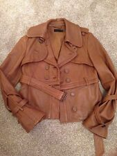 Allsaints Ladies Leather Jacket Size 12