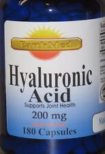 Hyaluronic Acid High Potency 200mg 180 Capsules High Quality 100 % Made USA/ FDA