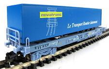 Minitrix 15637-05 Einheitstaschenwagen Novotrans SNCF OVP, TOP ! (TW539)