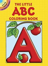 Little ABC Coloring Book Kids Alphabet Children Learning Activity Kindergarten