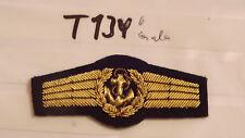 Bundeswehr TTA Seemännisches Personal gold - schwarz Handgestickt Gala (t134-)