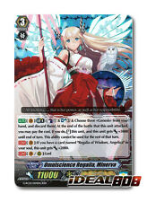 Cardfight Vanguard  x 1 Omniscience Regalia, Minerva - G-RC01/004EN - RRR Mint