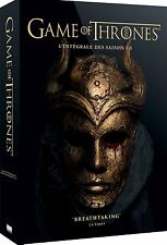 GAME OF THRONES 1-5 COMPLETE DVD BOX SEASON 1 2 3 4 5 ENGLISCH FRENCH AUDIO