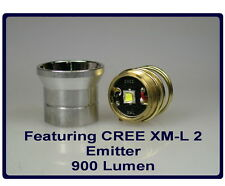 CREE XM-L2 emitter module with reflector for 26.5mm 1-mode flashlight #250