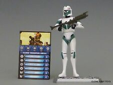 STAR WARS DRAA CLONE COLLECTION TROOPER CW35 TCW SOTDS LOOSE