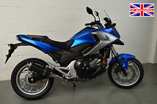 Honda NC750X 2016+ Demon Slash Carbon Fibre Round XLS Exhaust