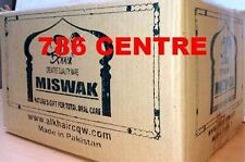 Full Box 144 X NATURAL Flavour Toothbrush Miswak Arak Siwak Peelu, Fresh Miswak