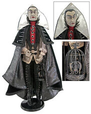 28-628048 Katherine's Collection Count Vampire Halloween Doll Dracula w/Bat Cage