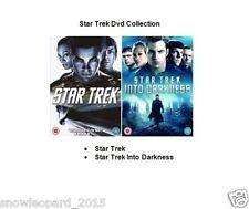 STAR TREK / STAR TREK INTO DARKNESS DVD PART 1 2 MOVIE FILM CHRIS PINE Sealed UK