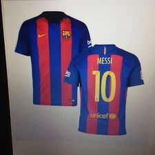 Messi FC Barcelona 2016/2017 Home Jersey 3XL FREE SHIPPING REPLICA